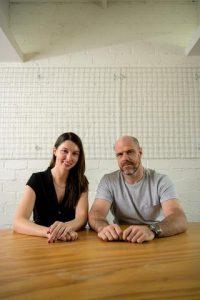Alison Lovat and Chris Reynolds, Unify Netball