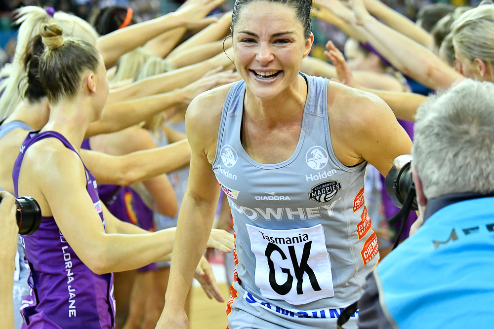 Sharni Layton last match with Collingwood Magpies