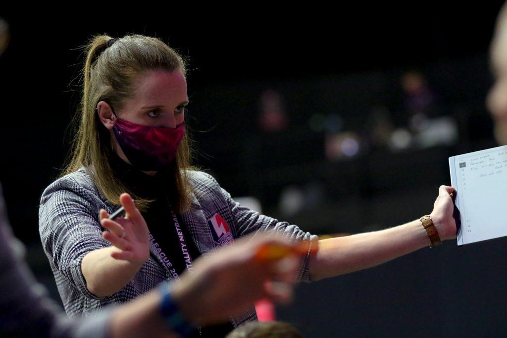 Lightning coach Sara Bayman (photo England Netball)
