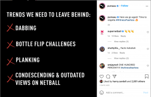 Puma AU Instagram Graphic